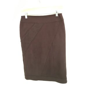 New French Suede like stretch skirt