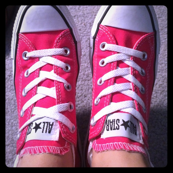 56 converse shoes pink converse size 6 from