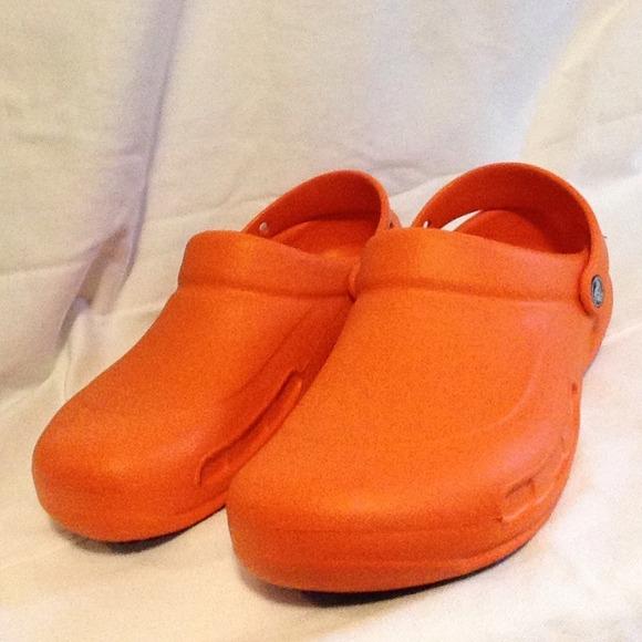4698884363a2 crocs Shoes - Mario Batali Signature orange CROCS