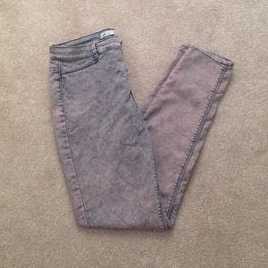 Zara Acid Wash Jeggings