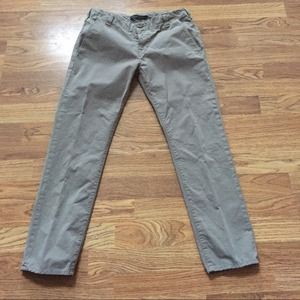 J Brand Inez low-rise Cropped Chino Pants 27