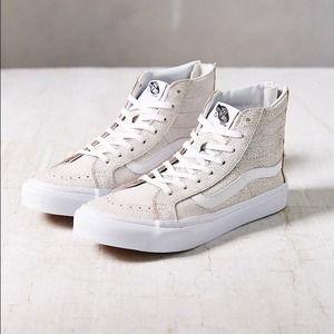 Furgonetas - Zapatos De Gamuza Delgada Postal Crujido Sk8-hi - Negro OBj6K9BT1p