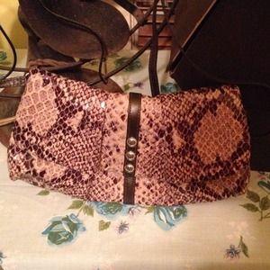 brighton snakeskin purse