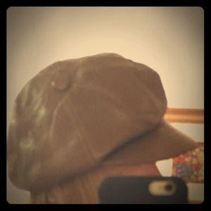 Barneys New York Accessories - Barneys New York Leather Hat dark brown