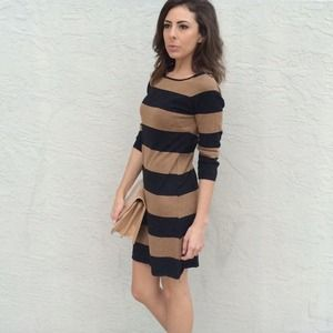 Striped Zara Sweater Dress