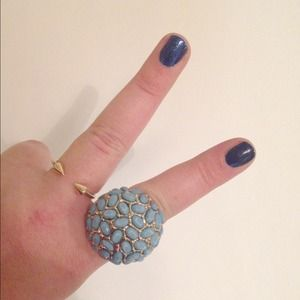 ASOS Jewelry - Turquoise Globe Statement Ring