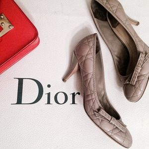 Dior Shoes - Dior Quilted Heels
