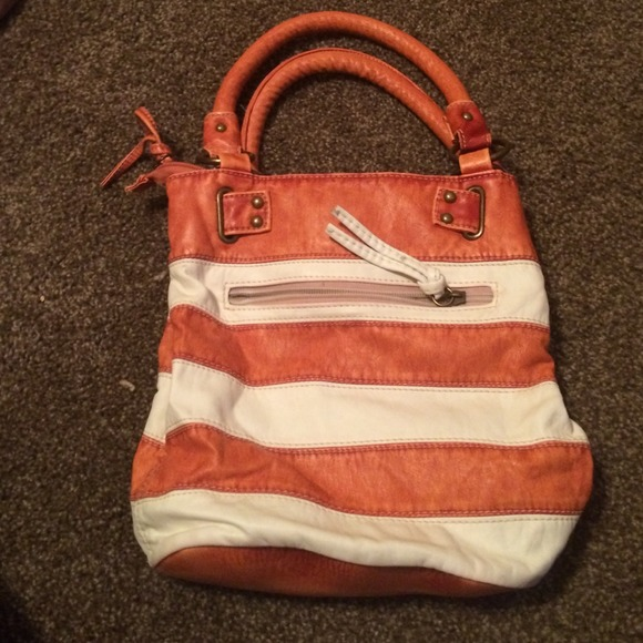 Dolce   Gabbana Handbags - Orange and white stripe dolce   gabana ... c0ec99835d