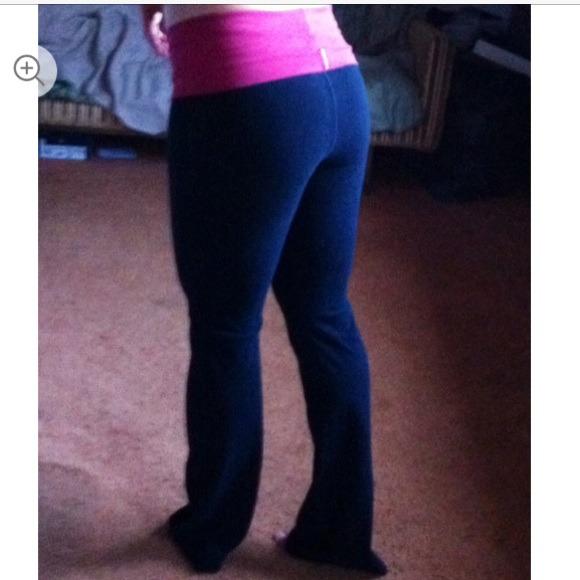 Hard Tail Pants Black Fold Over