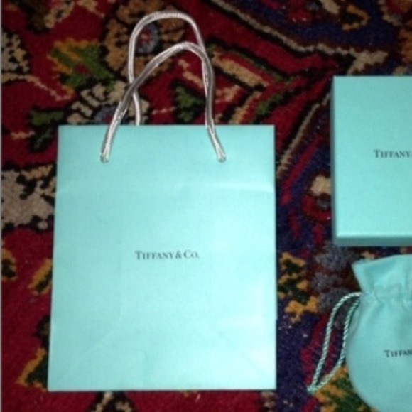 Tiffany & Co. - Tiffany shopping bag from Monica's closet on Poshmark