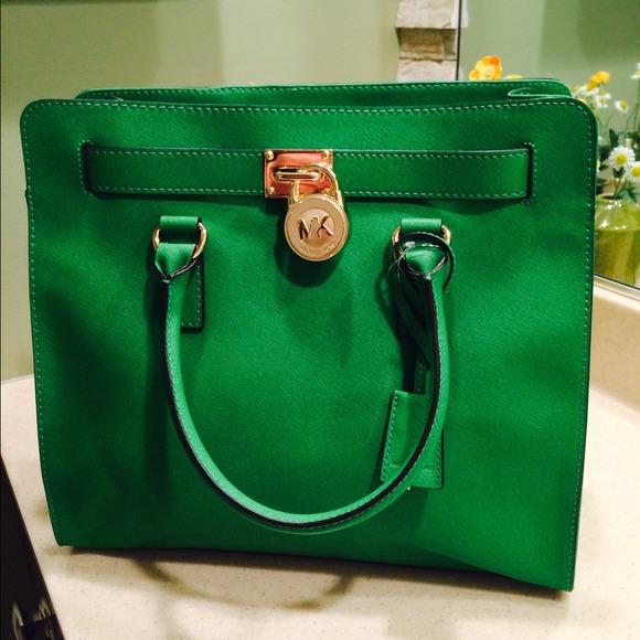 32% off Michael Kors Handbags - Michael KORS large hamilton Palm ...