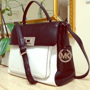 Brand new Michael Kors top handle tote/cross body