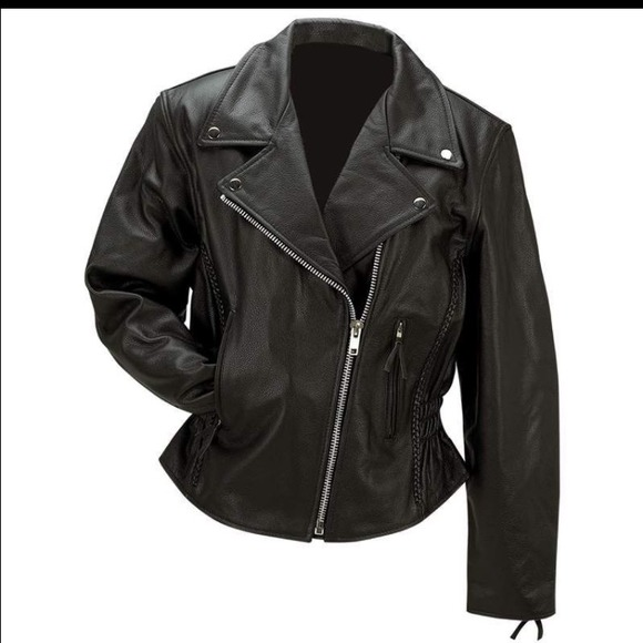 Rocky Mountain Hides Jackets & Blazers - Final reduction🎉️Black Leather Jacket Harley 🎉