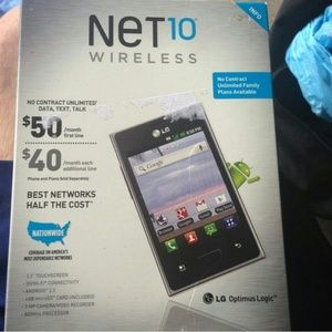 Other - Net ten prepaid phone with bluetooth