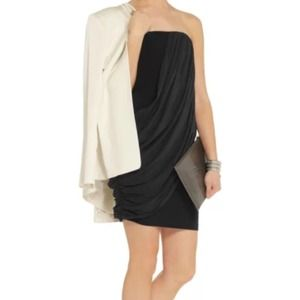 Alice + Olivia Draped Cocktail Dress size 0 XS