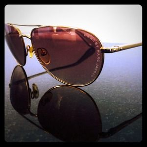 Marc by Marc Jacobs Gold Aviators