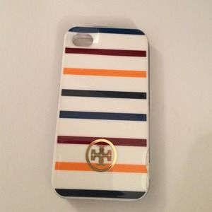 Tory Burch Other - Tory burch hard shell case iPhone 4