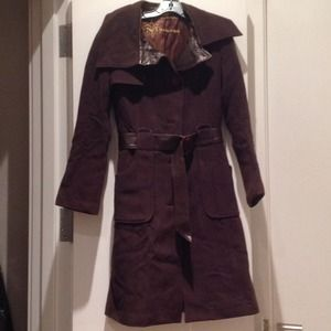 82% off Mackage Jackets &amp Blazers - Mackage brown wool trench with