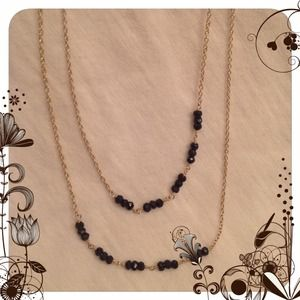 Argento Vivo Black Onyx/Sterling Silver Necklace