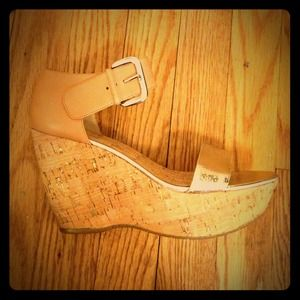 Donald Pliner wedge sandals!