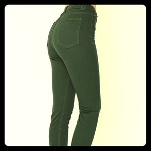 American Apparel Pants - American Apparel 4 way stretch high waisted jeans