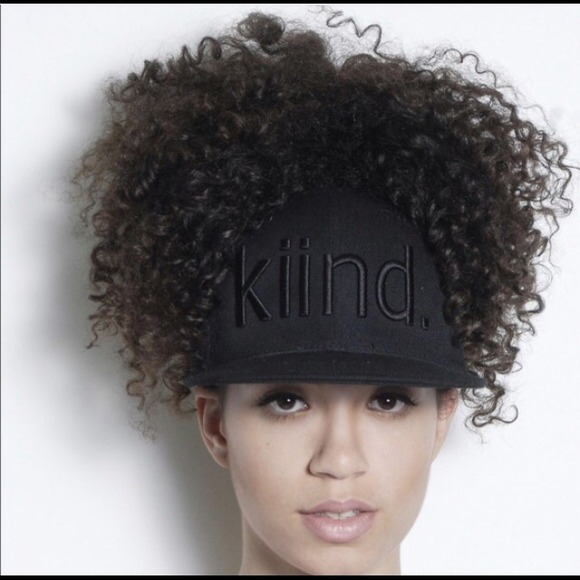 Accessories - snapback with whole on top of hat for ponytail! 9dbb5e772dd