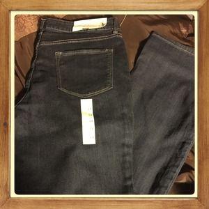 Denim - Demi Mid Rise Jeans Bootcut Size 14 Short