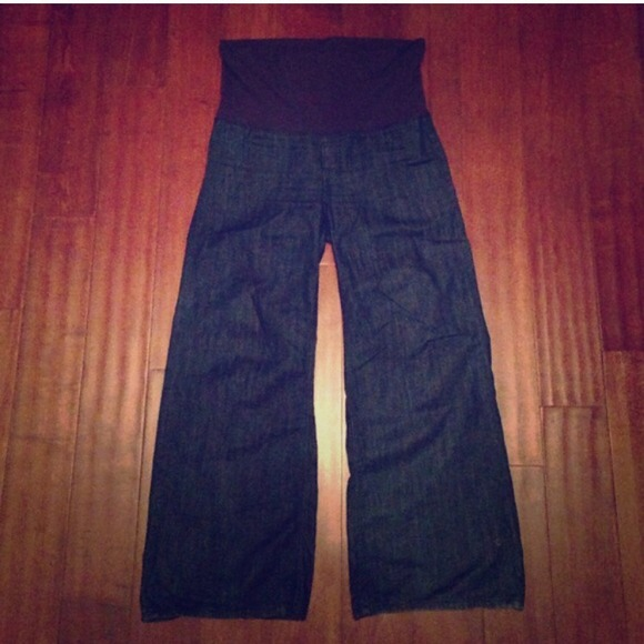 57% off 7 for all Mankind Denim - 7 for all Mankind wide leg ...