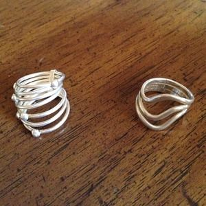 Jewelry - Solid sterling rings