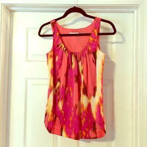 Calvin Klein Tops - Calvin Klein silk sleeveless blouse