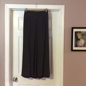 Anthropologie Dresses & Skirts - Maeve polka dot maxi skirt