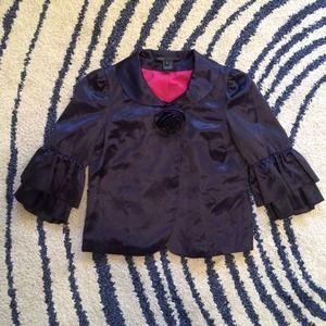 Marc Jacobs Jackets & Blazers - Marc Jacobs navy silk jacket