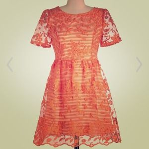 ModCloth Dresses & Skirts - SALE A Stitch in Clementine dress from Modcloth