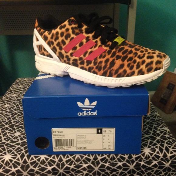 adidas Shoes | Adidas Zx Flux Cheetah