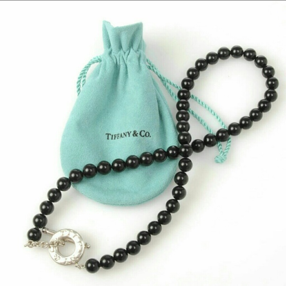 36945b86a Tiffany & Co Beaded Black Onyx Toggle Necklace. M_547a1a1093c636053a015407