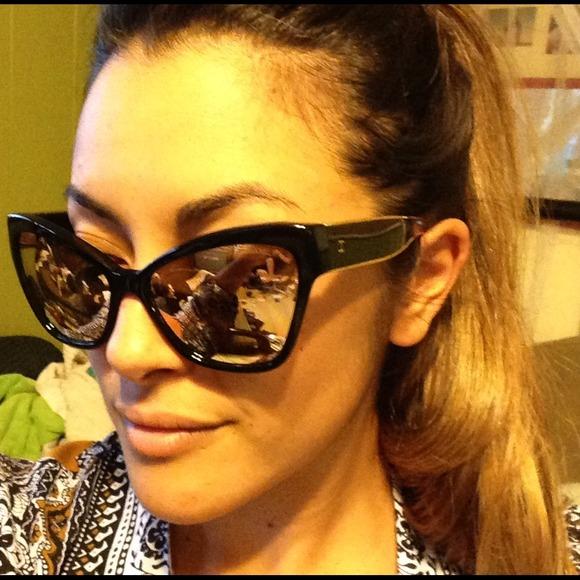 fbc147717e CHANEL Accessories - CHANEL 18k gold plated cat-eye sunglasses