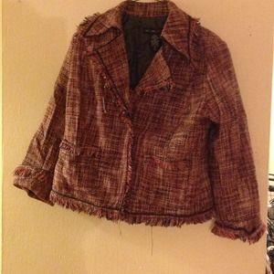 New York & Co tweed jacket Authentic