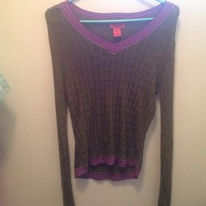 Sweaters - Missoni for Target XL Green & Purple Sweater