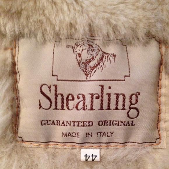 88% off Shearling Jackets & Blazers - Authentic Italian Shearling ...
