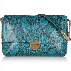 Stella McCartney faux python shoulder bag!
