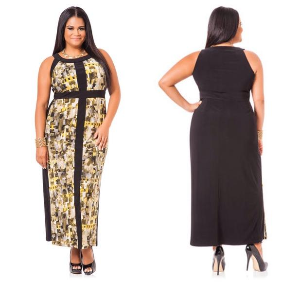 Ashley Stewart Dresses | Reduced Maxi Dress Plus Size 20w Nwt | Poshmark