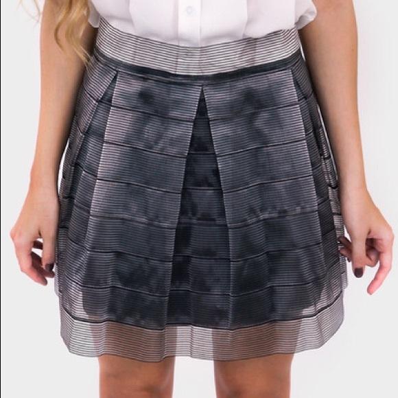⚡️Sale⚡️Metallic Pleated Skirt