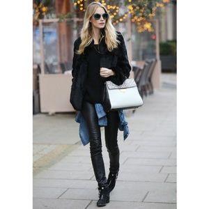 Vintage Black Leather Pants sz 2 Sexy & Quality!