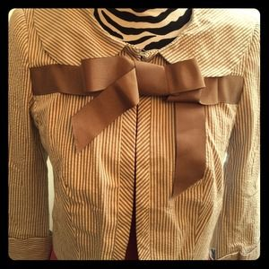 Striped Zara Blazer with Bow