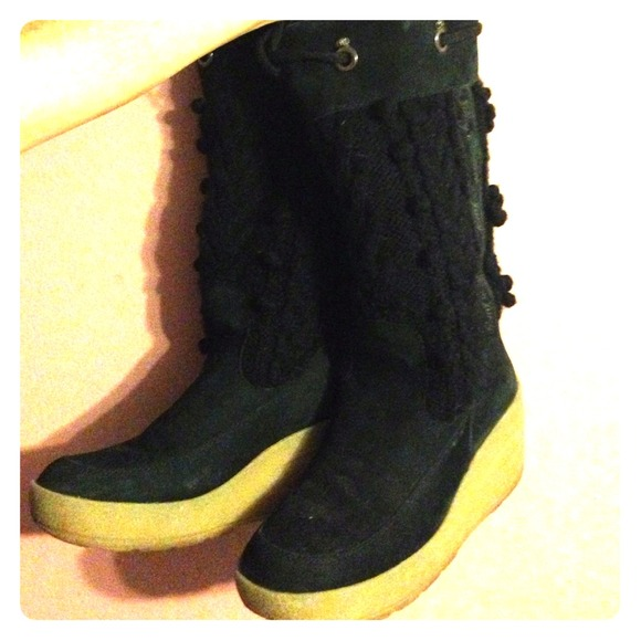 Juicy Couture Shoes | Warm Wedge Winter Boots | Poshmark