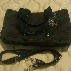 Authentic Black Coach bag
