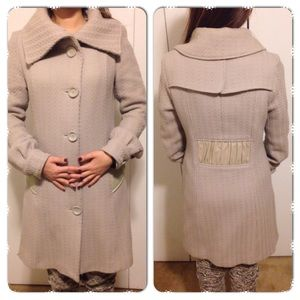 Mackage wool light grey coat