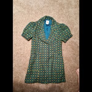 Anthropologie Vintage-Look Jacket