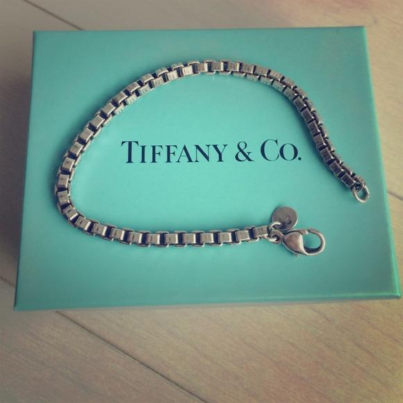 1fa610813 Tiffany & Co. Sterling Silver Box Chain Bracelet. M_547764959dd0eb054b0083c2