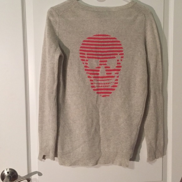 70% off SKULL CASHMERE Sweaters - SKULL CASHMERE sweater in light ...